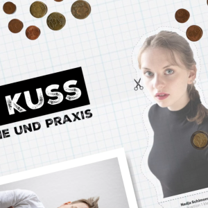 Hier geht's direkt zu der-kuss.de - Eine Web-Serie in 12 Folgen über einen Kuss - von Tomas Blum